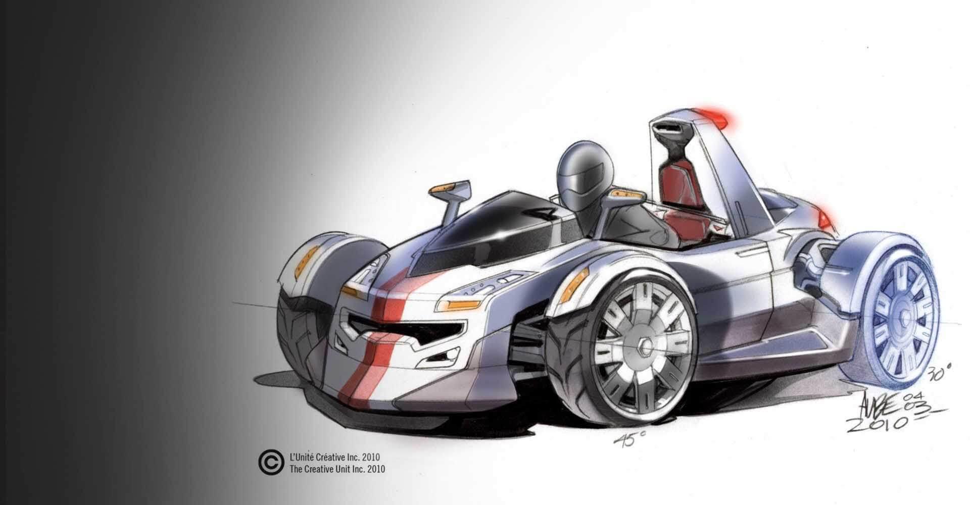 Sketch Motomobile 2010